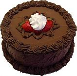Chocolate Strawberry Decorative fake cake 9 inch USA