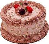 """Mocha 6"""" Fake Cake"""