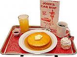Car Hop Fake Food Tray Pancakes