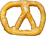 Pretzel Fake Food Large 6 inch Salted