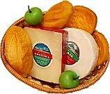 Cheese and Bread Basket 8 piece Fake Food
