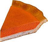 Pumpkin Pie Plain Fake Pie Slice USA