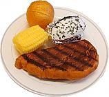 Steak Dinner Plate fake food USA