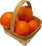 Orange 5 piece with Basket